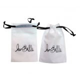 embalagem em tnt personalizada com fechamento em cetim ou cordão valor Vila Iapi