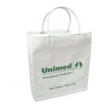 empresa de sacola em PVC personalizada Leme