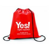 mochila de saco personalizada Residencial Campo Florido