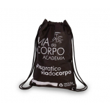 mochila em tnt promocional personalizada Vila Orozimbo Maia