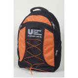 mochila personalizada para empresa Santana